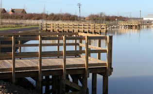 Timber Fishing Platforms - Ref 3731