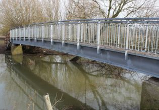 Galvanised Steel Bridge